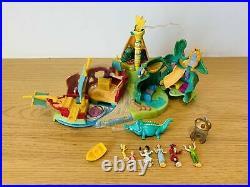 Vintage1997 Bluebird Disney Polly Pocket Peter Pan Neverland Playset 100% RARE