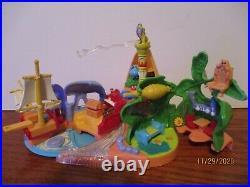 Vintage1997 Bluebird Disney Polly Pocket Peter Pan Neverland Playset 100% RARE+