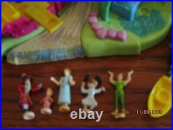 Vintage1997 Bluebird Disney Polly Pocket Peter Pan Neverland Playset 98% RARE
