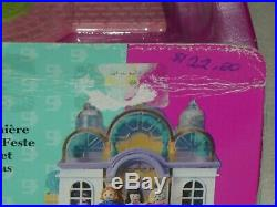 Vintage 1995 Polly Pocket Pollyville Light Up Bridal Salon Playset New Mib