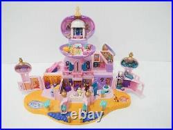 Vintage 1996 Bluebird Toys Polly Pocket Disney Aladdin Royal Palace Playset