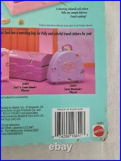 Vintage 1996 Polly Pocket Vacation Fun Playset Polly In Paris Nib Bluebird