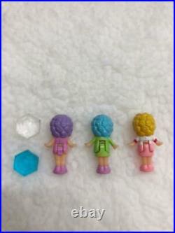 Vintage Bandai Angel Pocket Polly Pocket Birthstone of happiness Spring Compact