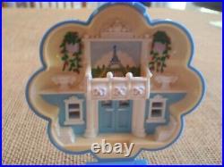 Vintage Bluebird Polly Pocket 1990 Fifi's Parisian Apartment Compact Complete E1