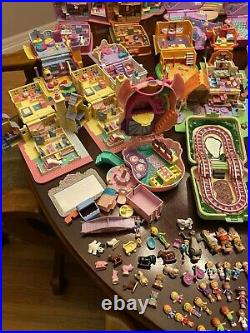 Vintage Bluebird Polly Pocket Lot With More Than 100