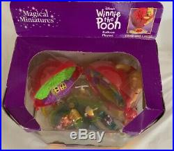 Vintage DISNEY Magical Miniatures Winnie the Pooh Balloon Playset Polly New 1999
