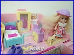 Vintage Lucy Locket Polly Pocket Dream Cottage Bluebird 1994 Figure Accessories