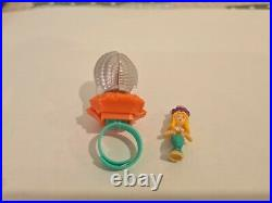 Vintage POLLY POCKET 1994 Pretty Pearl Surprise Ring COMPLETE