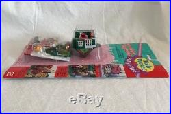 Vintage POLLY POCKET Pollyville HOLIDAY TOY SHOP NEW & SEALED MOC 1995