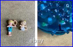 Vintage Polly Pocket 1989-1996 BLUEBIRD LOT HUGE Compacts Houses & 2 Figures