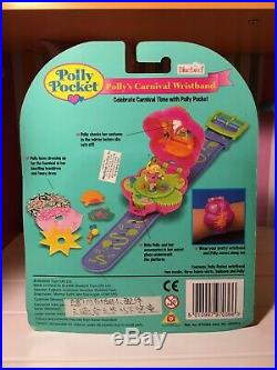 Vintage Polly Pocket 1996 Carnival Queen Wristband Rare New In Package