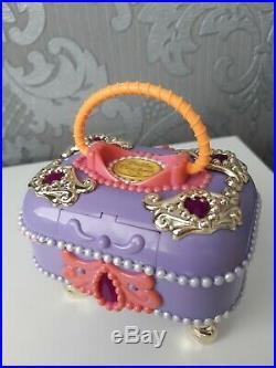 Vintage Polly Pocket 1997Jewel Case (Jewel Secrets) Complete Ring Bracelet