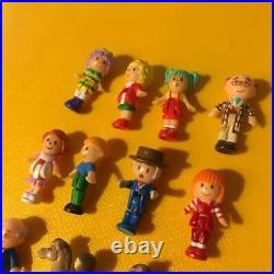 Vintage Polly Pocket Angel Rainbow Fairy Town Bandai Toy mini Doll House Boxed