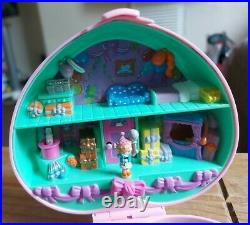 Vintage Polly Pocket Birthday Party Stamper Set 1992. 99% Complete. Very Rare