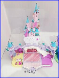 Vintage Polly Pocket BlueBird 1995 Cinderella Castle Step Mother House complete