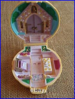 Vintage Polly Pocket Bluebird 1989 Bridesmaid Polly Wedding Compact Complete