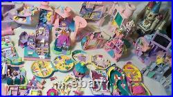 Vintage Polly Pocket Bluebird trendmasters house compacts toy lot