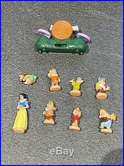 Vintage Polly Pocket Disney Snow White Portrait Play Set