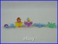 Vintage Polly Pocket Flowers Petal Village 1997 Playset Complete