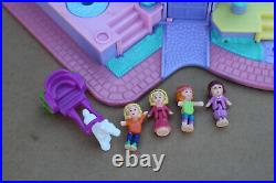 Vintage Polly Pocket Light-Up Magical Mansion Playset with Figures Bluebird 1994
