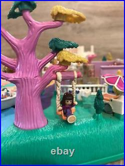 Vintage Polly Pocket Magical Movin' Pollyville 100% COMPLETE Bluebird RARE1996