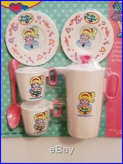 Vintage Polly Pocket Play Tea Party Set NIP