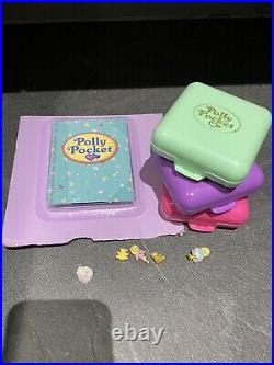 Vintage Polly pocket party time variation green compact Party Surprise Bundle