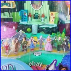 Vintage Wizard Of Oz Polly Pocket Play set! 2001 NIB By Mattel New in box
