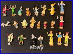 Vintage polly pocket Large DISNEY Figures Job Lot