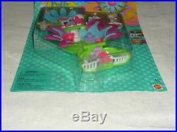 Vntg 1997 Mattel Polly Pocket Boutique Totally Flowers Dressmaker Playset Moc