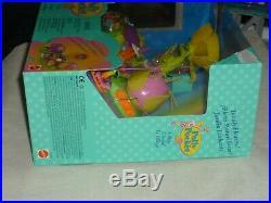 Vntg 1997 Mattel Polly Pocket Totally Flowers Petal Village Playset New Mib