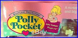 Vtg. 1995 Mattel/Bluebird POLLY POCKET Baby Stampin' Playground Playset In Box