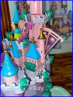 Vtg Disney's Cinderella Wedding Polly Pocket Palace Playset Bluebird Complete