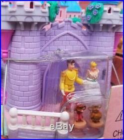 Vtg Disney's Princess Cinderella Wedding Palace Playset Polly Pocket 2001 RARE