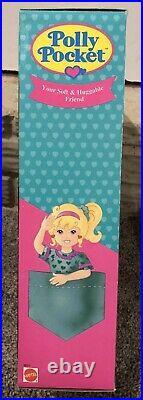 Vtg Polly Pocket Soft Doll Bluebird Toys Miniature Doll Play NIB Mattel Friends